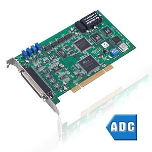 A/D-Wandler-Messkarten mit PCI-Businterface