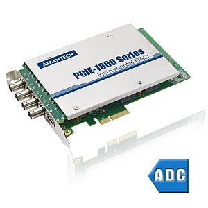 A/D-Wandler-Messkarten mit PCI-Express-Businterface