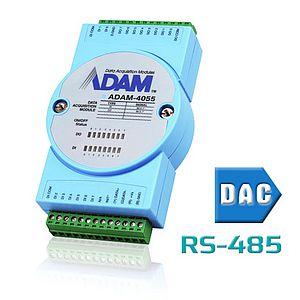 Remote-I/O-Module (RS-485) mit analogen Ausgängen