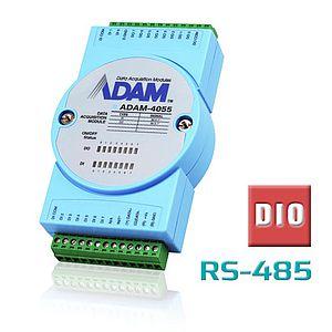 Remote-I/O-Module (RS-485) mit digitalen I/O