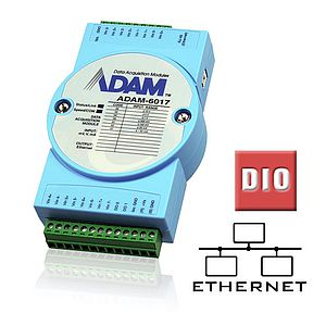 Remote-I/O-Module (Ethernet) mit digitalen I/O