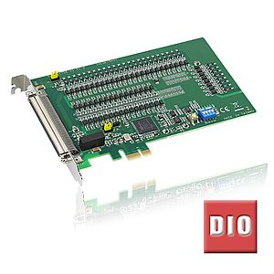Digitale I/O-Karten mit PCI-Express-Businterface