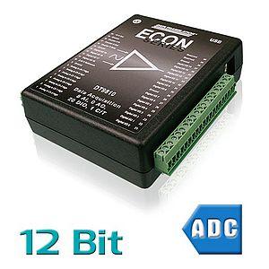 USB-Messsysteme mit analogen Eingängen und 10 - 12 Bit Auflösung