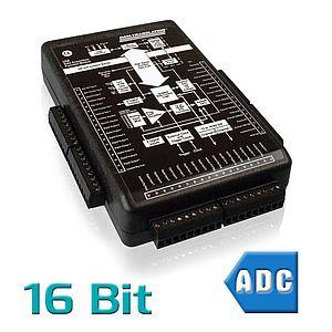 USB-Messsysteme mit analogen Eingängen und 16 Bit Auflösung