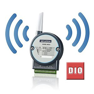 Wireless Remote-I/O-Module mit digitalen I/O
