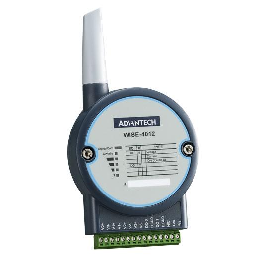 WISE-4012 IoT Wireless Analog-Eingangs-Modul