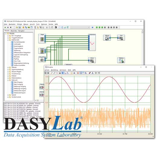 DASYLab 2016 Messsoftware