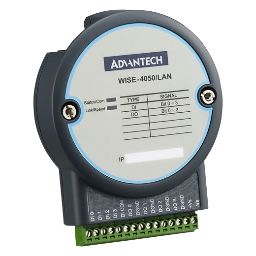 WISE-4050/LAN IoT Ethernet Digital-I/O-Modul