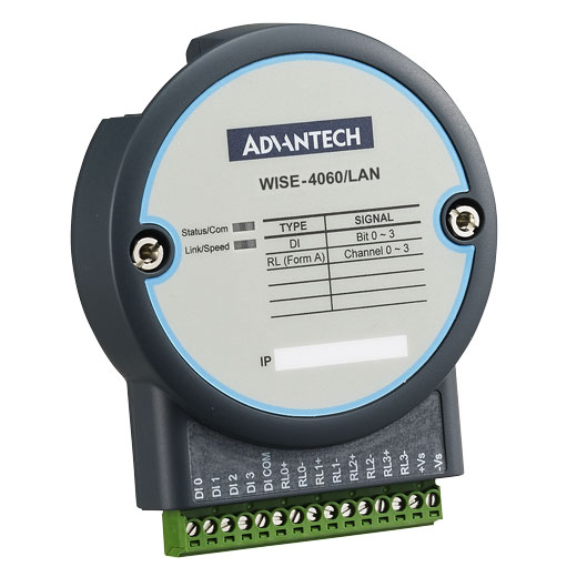 WISE-4060/LAN IoT Ethernet Digital-I/O-Modul