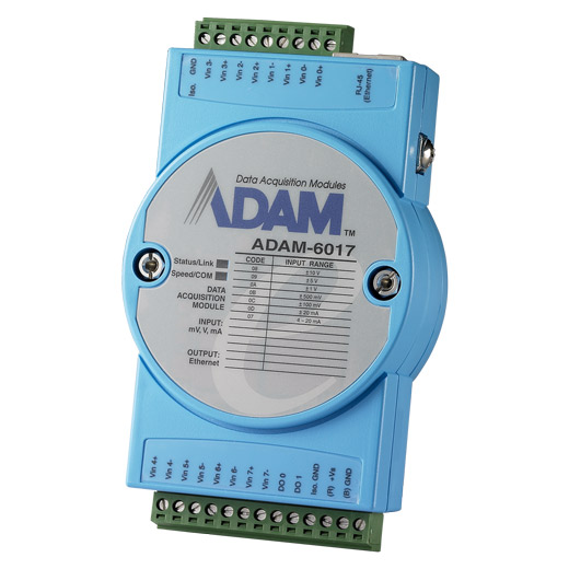ADAM-6017 Ethernet-I/O-Modul