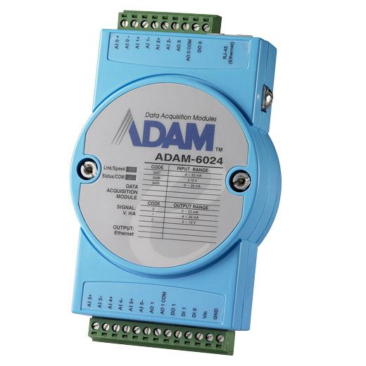 ADAM-6024 Ethernet-I/O-Modul