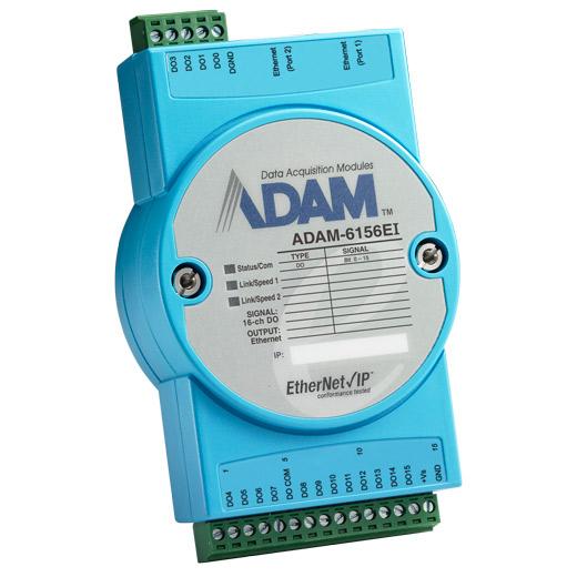 ADAM-6156EI Real-Time EtherNet/IP-I/O-Modul