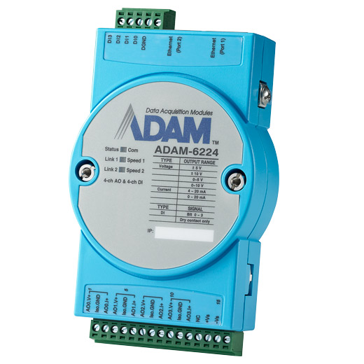 ADAM-6224 Intelligentes Ethernet-I/O-Modul