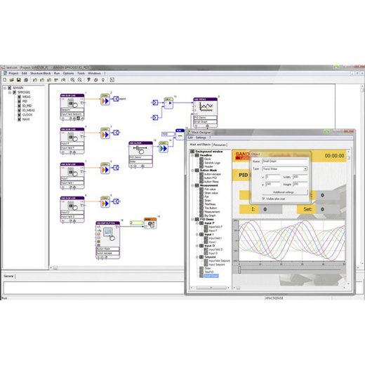 test.con Studio Grafisches Programmiersystem