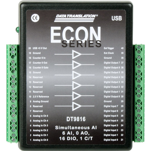 USB-9816-A Data Translation ECO USB Messmodul