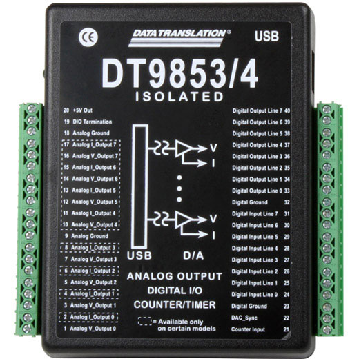 USB-9853 Data Translation USB D/A-Wandler-Modul