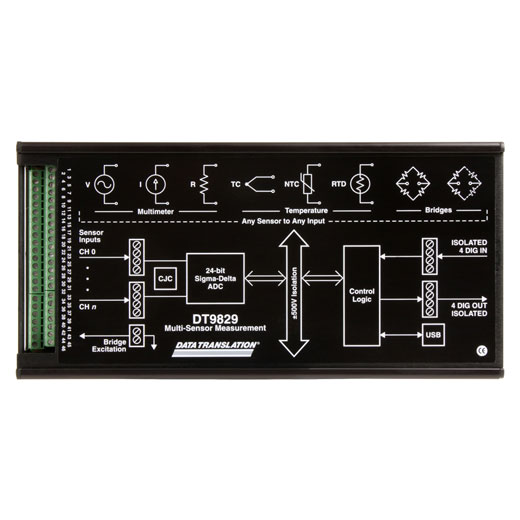 USB-9829-08  Data Translation USB Messmodul