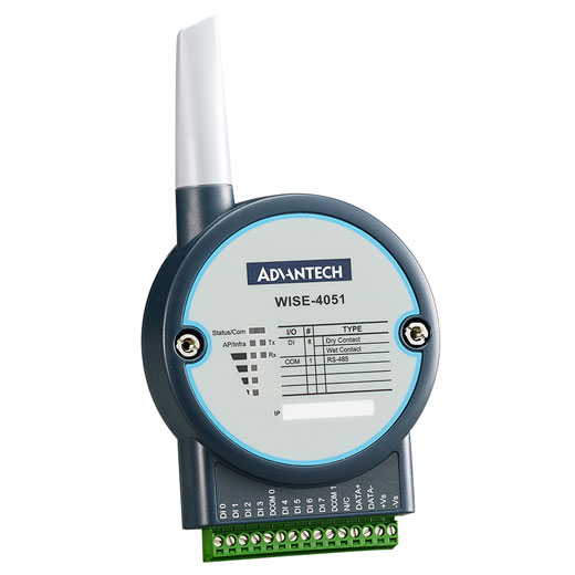 WISE-4051 IoT Wireless Digital-Eingangs-Modul