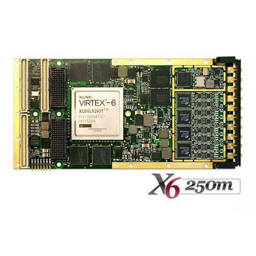 X6-250M - XMC-Analog-Eingangs-Modul